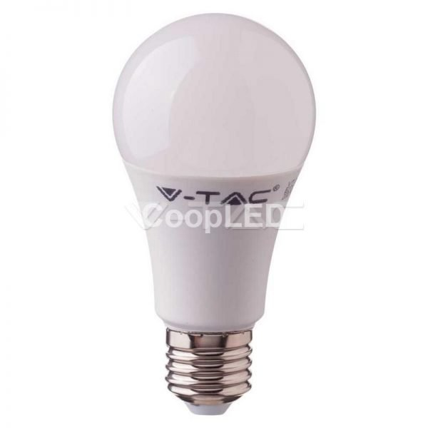 V-TAC PRO LAMPADA LED E27 9W 4000k CHIP SAMSUNG BULB A58