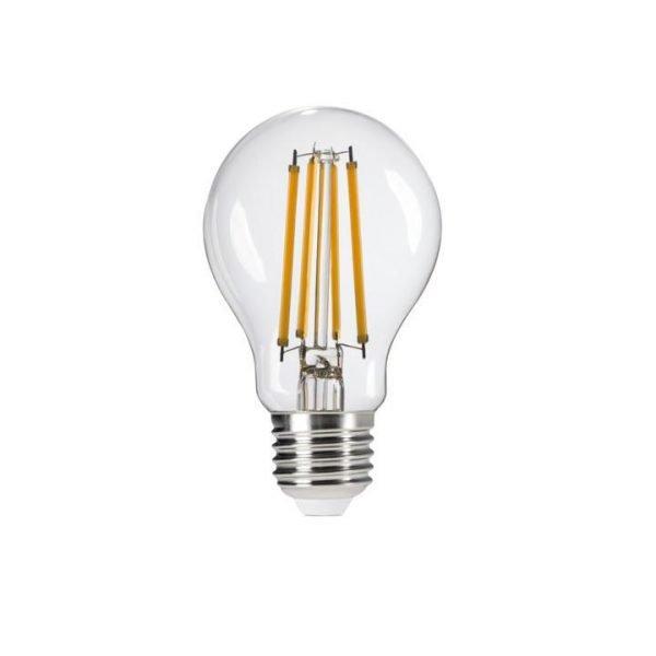 Lampadina Led Filament E27 10w in vetro trasparente 1500 Lumen