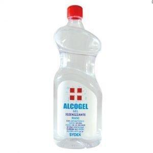 Gel Igienizzante Mani Alcool >70% con Antibatterico Efficace Contro Germi e Batteri – Flacone da 1 Litro