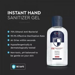 Gel Mani Igienizzante Flacone da 60ML Alcol 75%