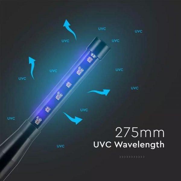 Lampada Germicida UV Portatile Ricaricabile