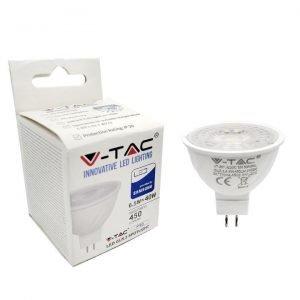 V-TAC PRO VT-267 LAMPADINA LED GU5.3 (MR16) 6,5W FARETTO SPOTLIGHT CHIP SAMSUNG