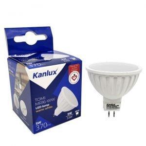 Lampadina LED GU 5.3  Luce Calda 3000K MR16 370 Lumen