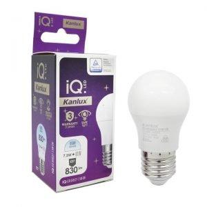 Lampadina LED E27 7,5W Luce Fredda 6400K MiniGlobo G45