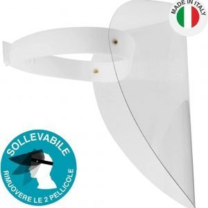 Visiera Protettiva in Plexiglass da 1mm Made in Italy