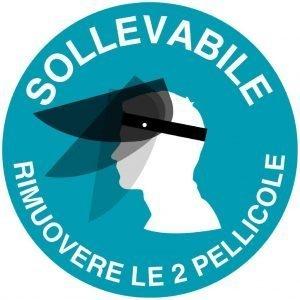 Visiera Protettiva in Plexiglass da 1mm Made in Italy