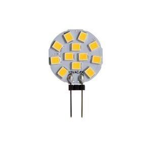 Lampada LED G4 1,2W Luce Naturale 4000k Minidisco