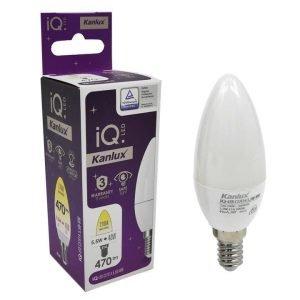 Lampada LED E14 a Candela Da 5,5w Luce Calda Equivalente a 40W
