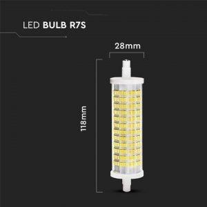 Lampada Led R7S 18w Equivalente a 150w Luce Fredda 6400k