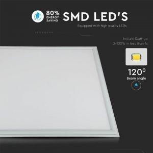 Pannello LED 45W Luce Calda Dimensioni 60x60cm