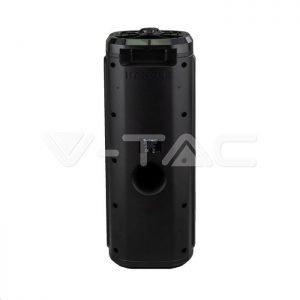 Cassa Attiva 30W Wireless Con Bluetoot Karaoke Led RGB Telecomando E Microfono