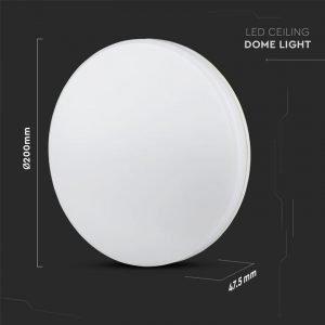 Plafoniera LED Tonda 15W Luce Bianca Calda