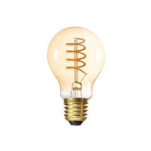 Lampada LED E27 5W Equivalente 25W Luce Calda Ambrata 1800k Bulbo A60 230 Lumen