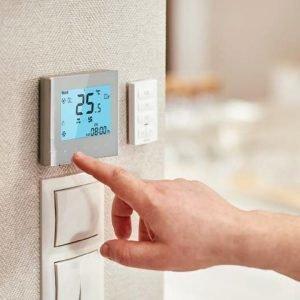 Fan Coil Termostato WiFi per la Gestione di Caldaie e Termoconvettori Gestione Remota da Smartphone
