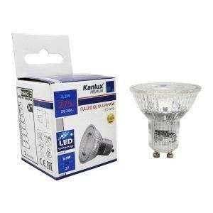 Lampada LED GU10 3,3W Luce Fredda