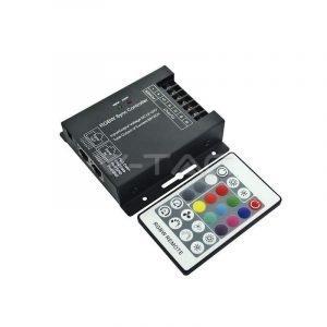 Controller Per Strisce LED RGB +W/W 12/24V Con Telecomando