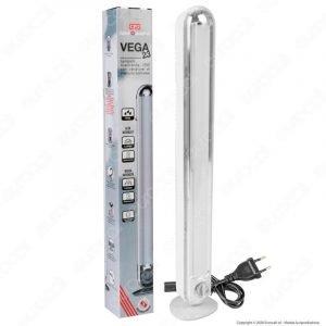 Lampada LED 23W Ricaricabile Con Poteziometro Di Intensita Anti BLACK OUT