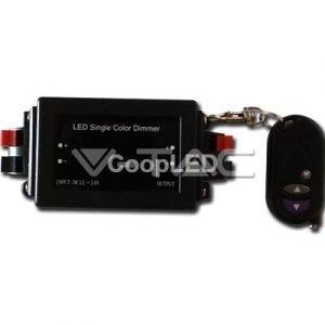 Controller Per Strisce LED Monocolore 12/24V Con Telecomando