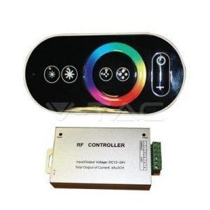 Controller Per Strisce LED RGB 12/24V Con Telecomando Touch