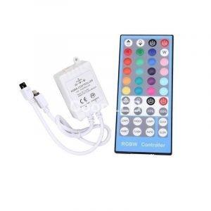 Controller Per Strisce LED RGB +W 12/24V Con Telecomando