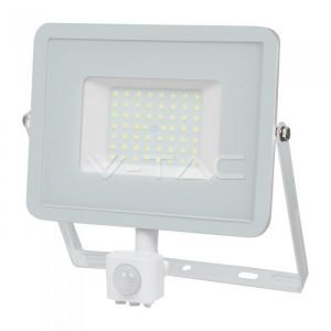 Faro LED 50W Luce Calda Con Sensore Di Movimento e Crepuscolare