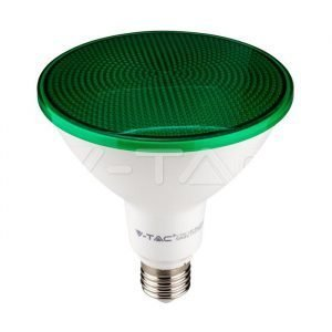Lampada LED E27 Verde Par38 IP65