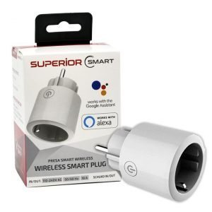 Presa Schuko WiFi Smart 16A Wireless