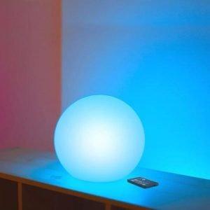 Sfera Buly30 Multicolor Impermeabile, Ricaricabile & Solare – con Telecomando