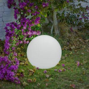 Sfera Buly40 Multicolor Impermeabile, Ricaricabile & Solare con Telecomando
