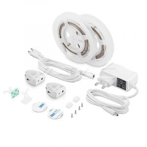 Kit Striscia LED con Sensore per Letto Matrimoniale