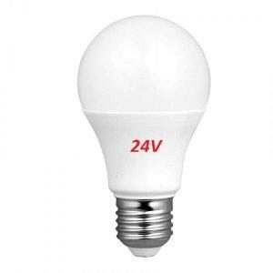 Lampada LED E27 Luce Calda 24V